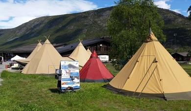 Picture of tipi camp aktiv i lom